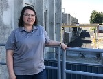 Meet Destinee Rea, Ceramics Process Engineer at Framatome's Richland, Washington, fuel manufacturing facility
