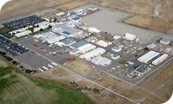 Aerial view of Richland Facility in Washington State